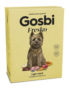 Gosbi Fresko wet food for dogs - light adult